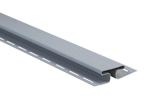 """Планка """"сполучна"""" Alta-Siding світло-сіра 3050 мм"""