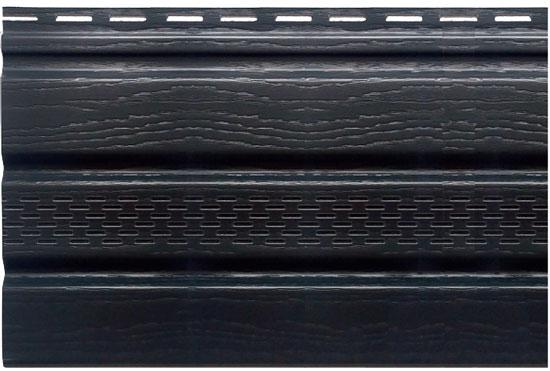Софіт Т-20 графітовий, з частковою перфорацією 3000х230 мм