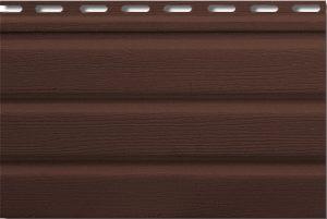 Софіт Т-19 коричневий, без перфорації 3000х230 мм