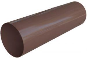 Труба водосточная Альта-Профиль Элит 95 мм 3 м коричневый
