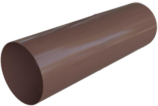 Труба водостічна Еліт 95 мм 3 м Коричневий, Альта-Профіль