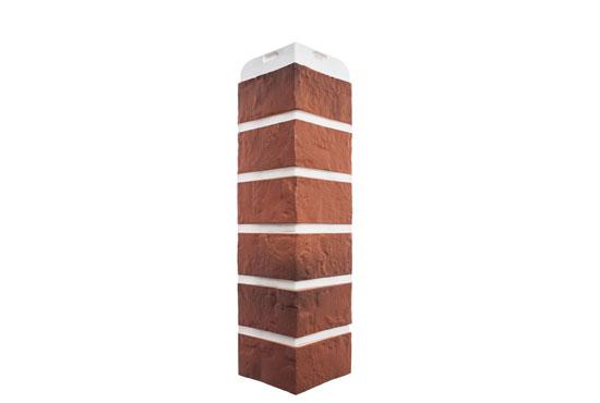 Зовнішній кут Цегла Ризька-04 Альта-Профіль, 0,472х0,112м