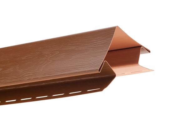 """Планка Т-12 зовнішній кут """"BH"""" BlockHouse дуб світлий 3050 мм"""