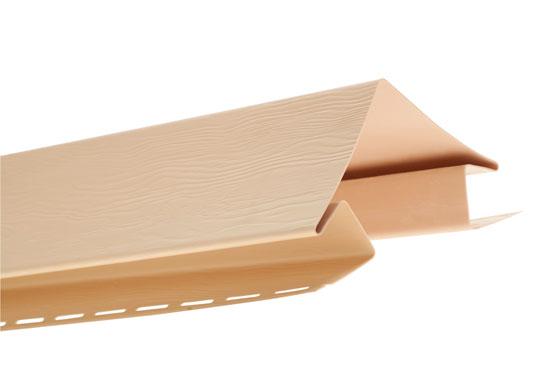 """Планка Т-12 зовнішній кут """"BH"""" BlockHouse золотиста 3050 мм"""