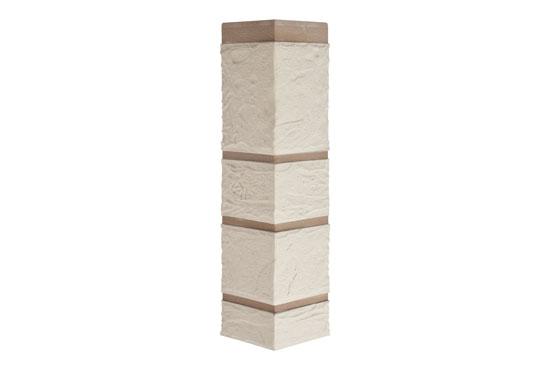Зовнішній кут Камінь Білий Альта-Профіль, 0,472х0,112мм