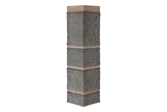 Зовнішній кут Камінь Сірий Альта-Профіль, 0,472х0,112мм
