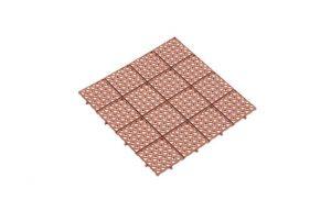 Универсальная решетка коричневая 333х333 мм