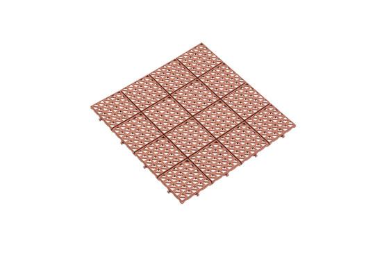 Універсальна решітка коричнева 333х333 мм