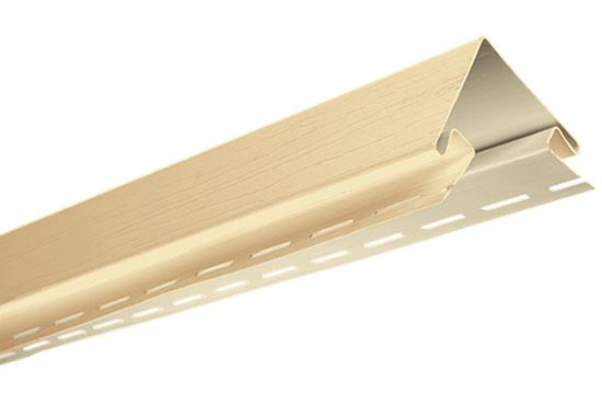 """Планка """"зовнішній кут"""" Alta-Siding пісочна 3050 мм"""