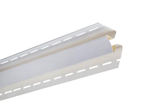 """Планка """"внутрішній кут"""" Alta-Siding біла 3050 мм"""