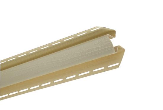 """Планка """"внутрішній кут"""" Alta-Siding лимонна 3050 мм"""