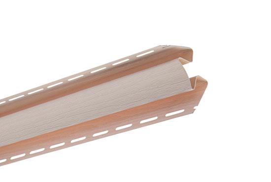 """Планка """"внутрішній кут"""" Alta-Siding рожева 3050 мм"""