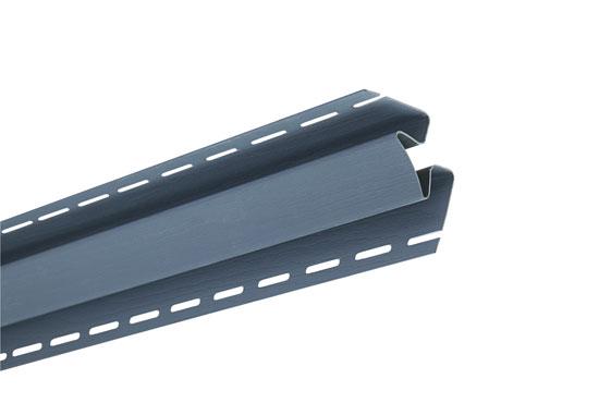 """Планка """"внутрішній кут"""" Alta-Siding сіро-блакитна 3050 мм"""