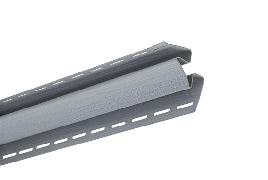 """Планка """"внутрішній кут"""" Alta-Siding світло-сіра 3050 мм"""