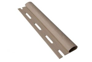 Старт-финишная планка орех для стенового сайдинга 3,66 м