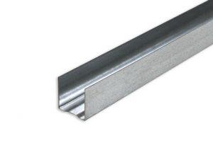 Профиль металический для гипсокартона UD 27*28 Евро Плюс 3.0 м