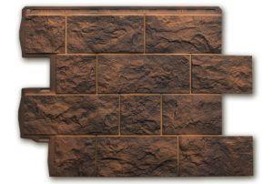 Туф Иранский 796х591х2,6 мм, Фасадная панель