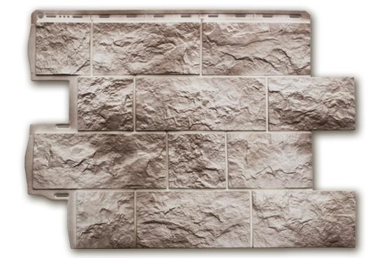 Туф Ісландський 796х591х2,6 мм, Фасадна панель