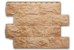 Туф Итальянский 796х591х2,6 мм, Фасадная панель