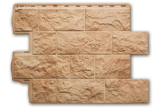 Туф Італійський 796х591х2,6 мм, Фасадна панель