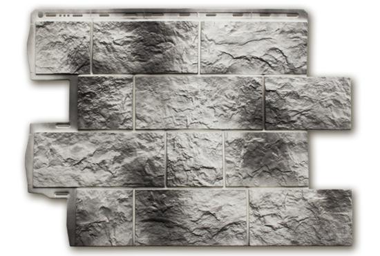 Туф Камчатський 796х591х2,6 мм, Фасадна панель
