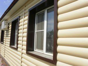 block house gold fasade