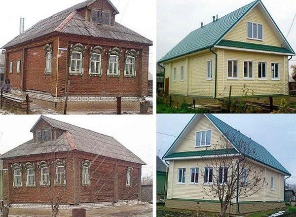дом после реновации